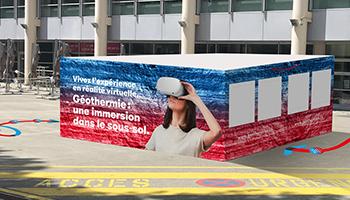 Vivez une expérience de réalité virtuelle!